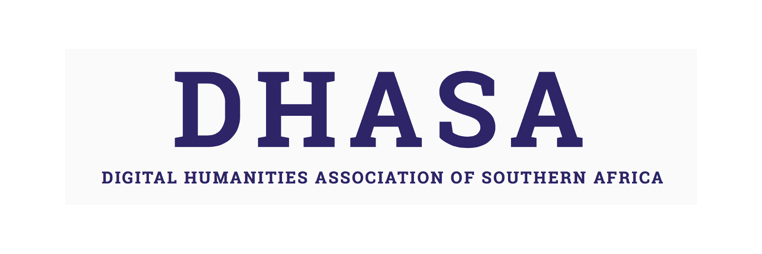Website logo of the Digital Humanities Association of Southern Africa