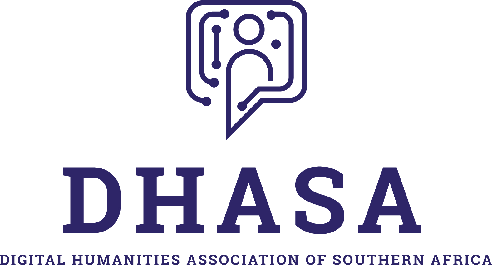 Logo of Digital Humanities Association of Southern Africa